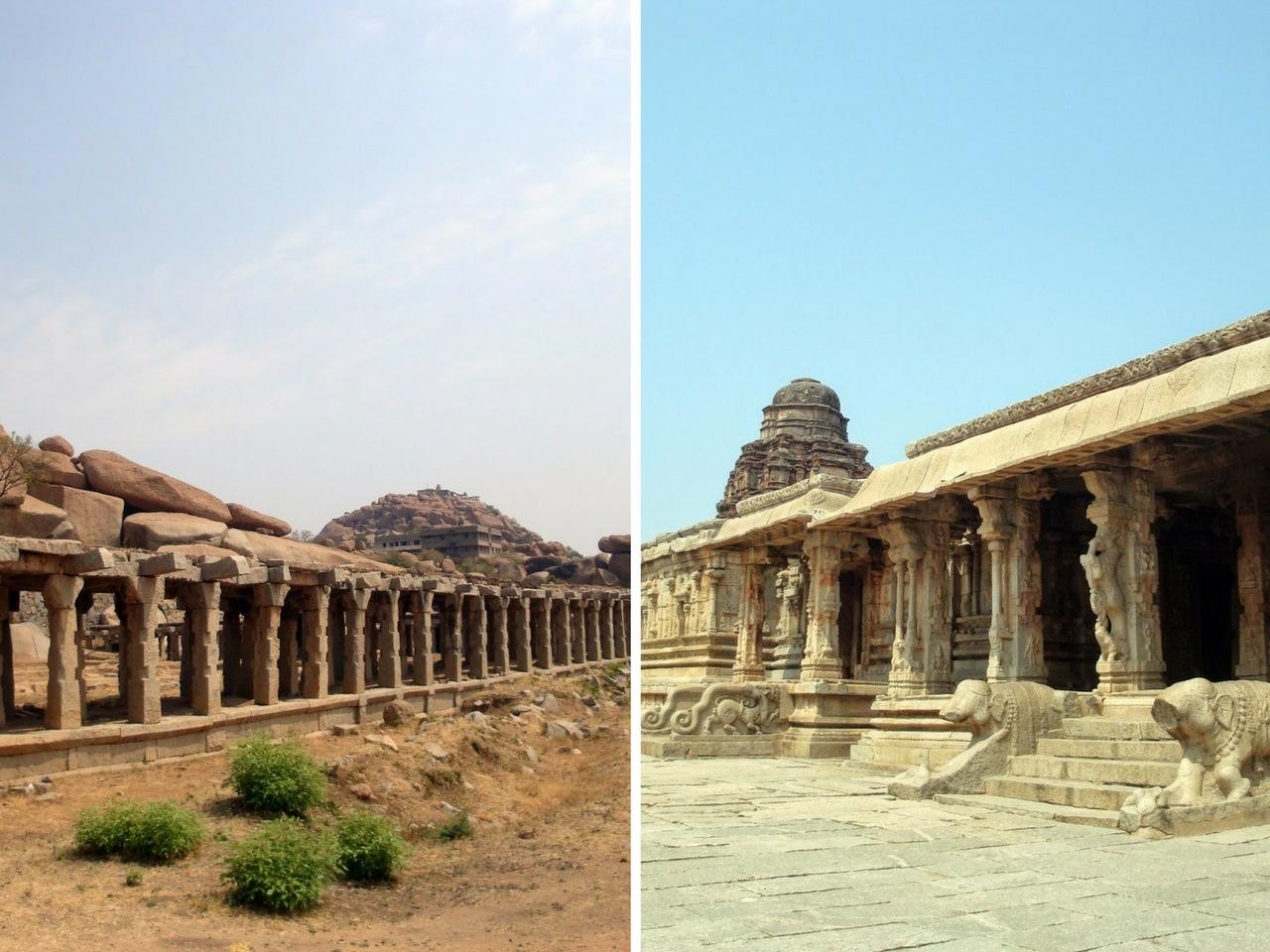 Hampi - Krishna Temple