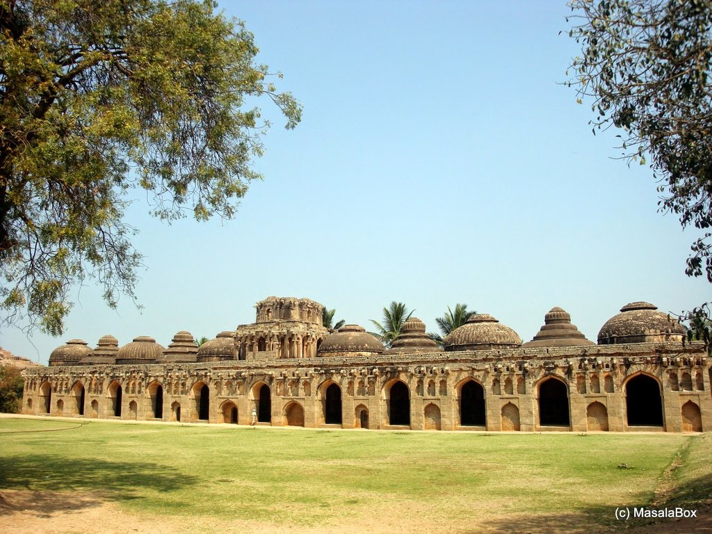 Hampi - Elephant's stable