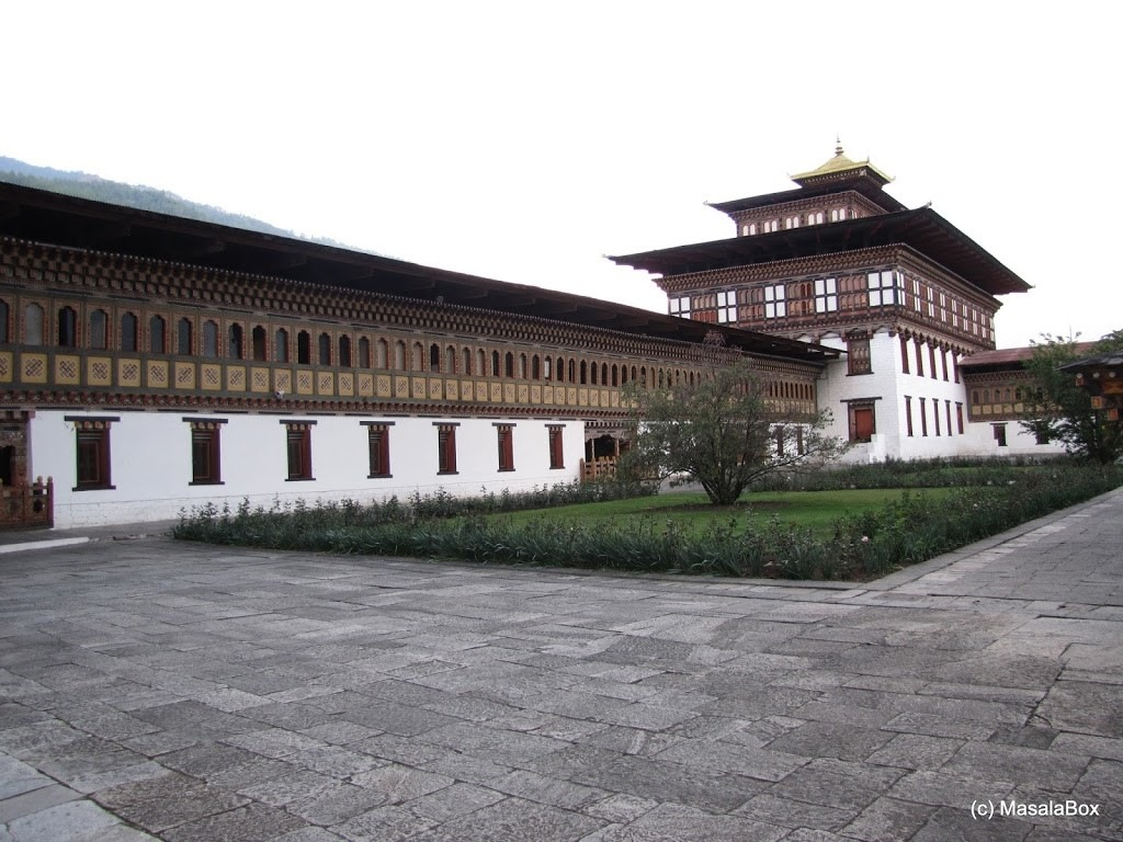 Campus of Thimphu Dzong