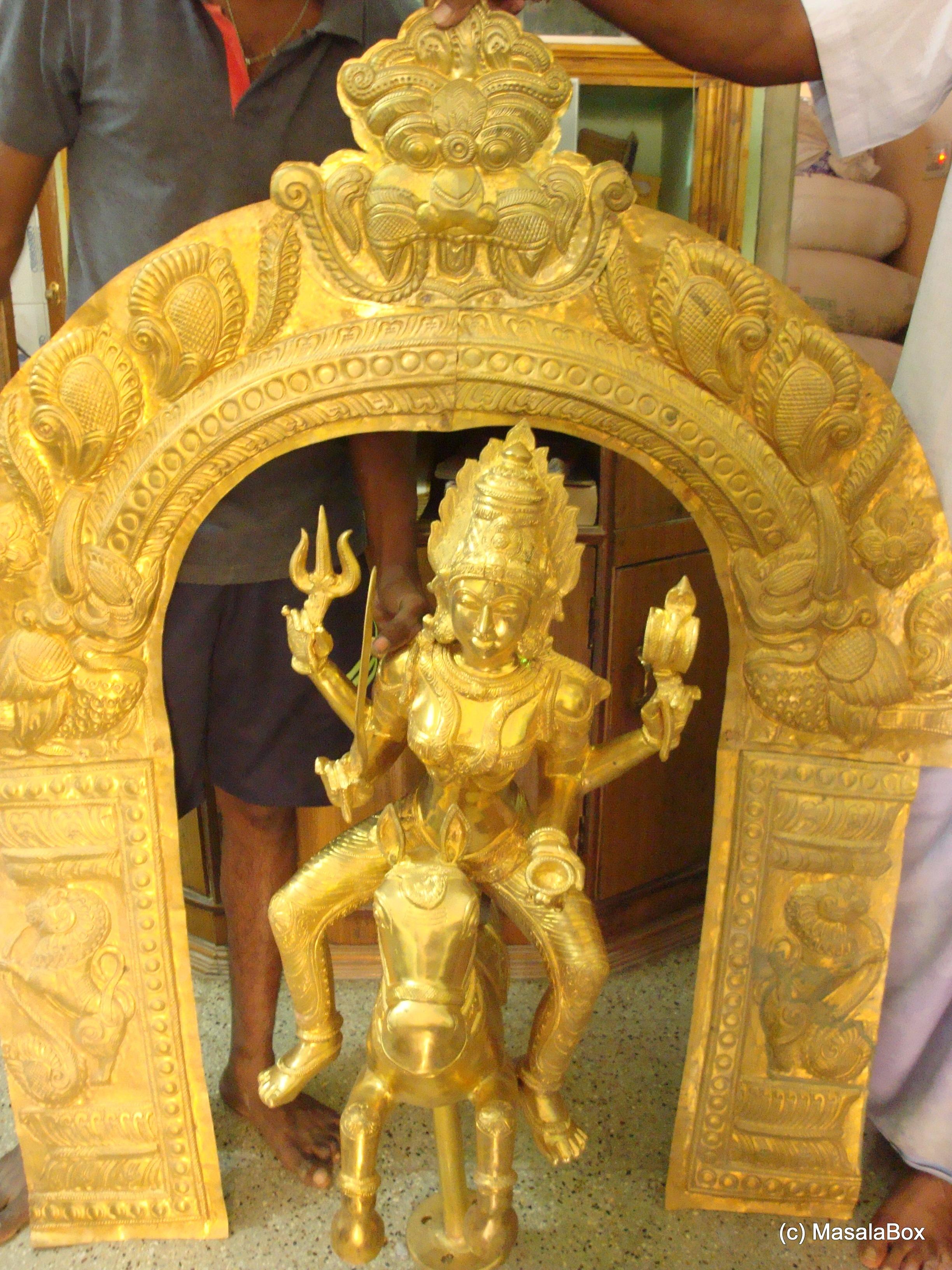 Panchaloha idol
