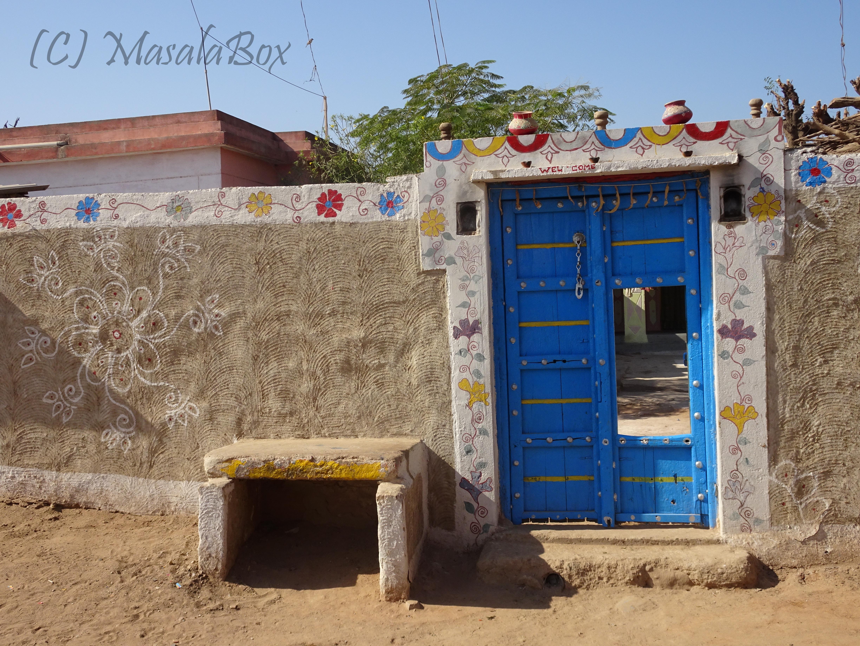 A beautiful house in the Bhujodi village