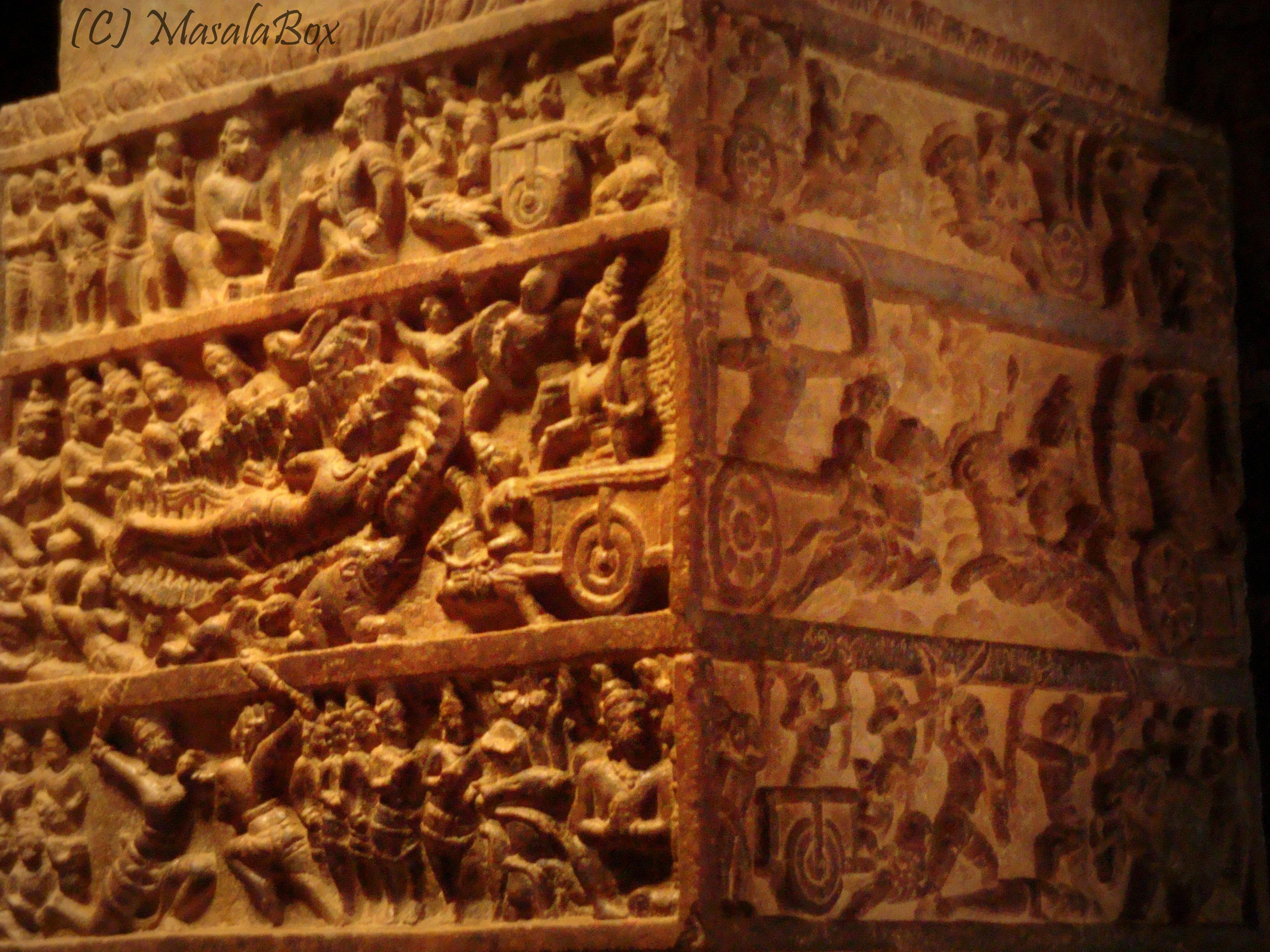 Pattadakal - Story from Mahabharatha