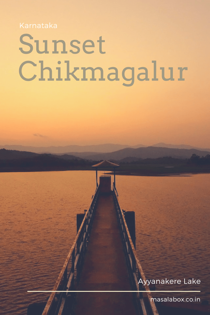 Pin it - Sunset at Chikmagalur