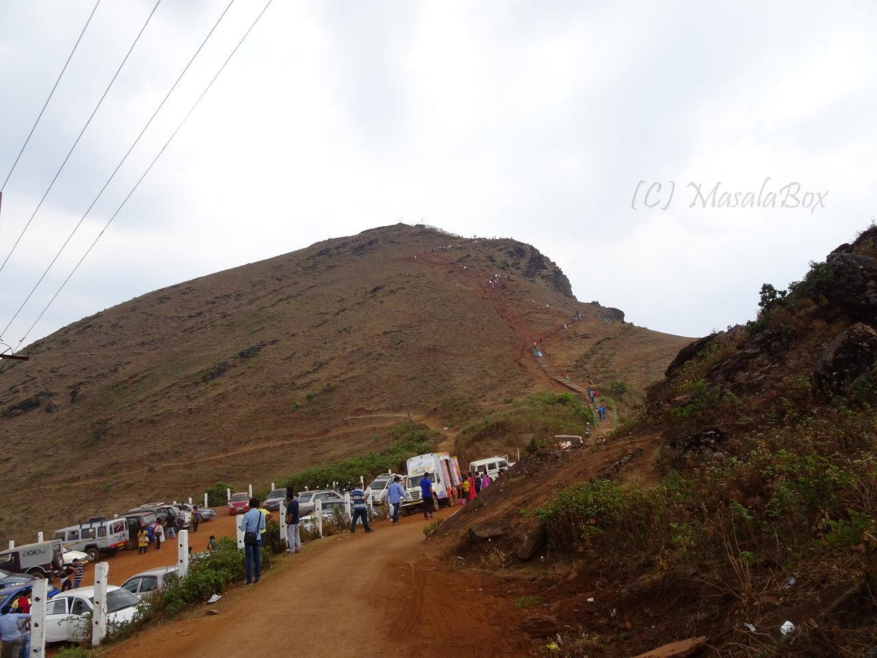 Chikmagalur - Crowded Mullayanagiri