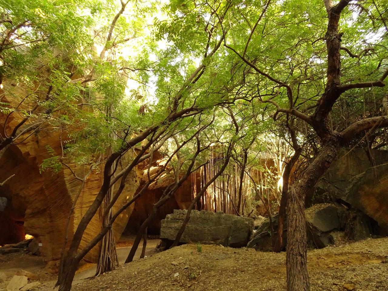 Diu tourism - Naida caves interior