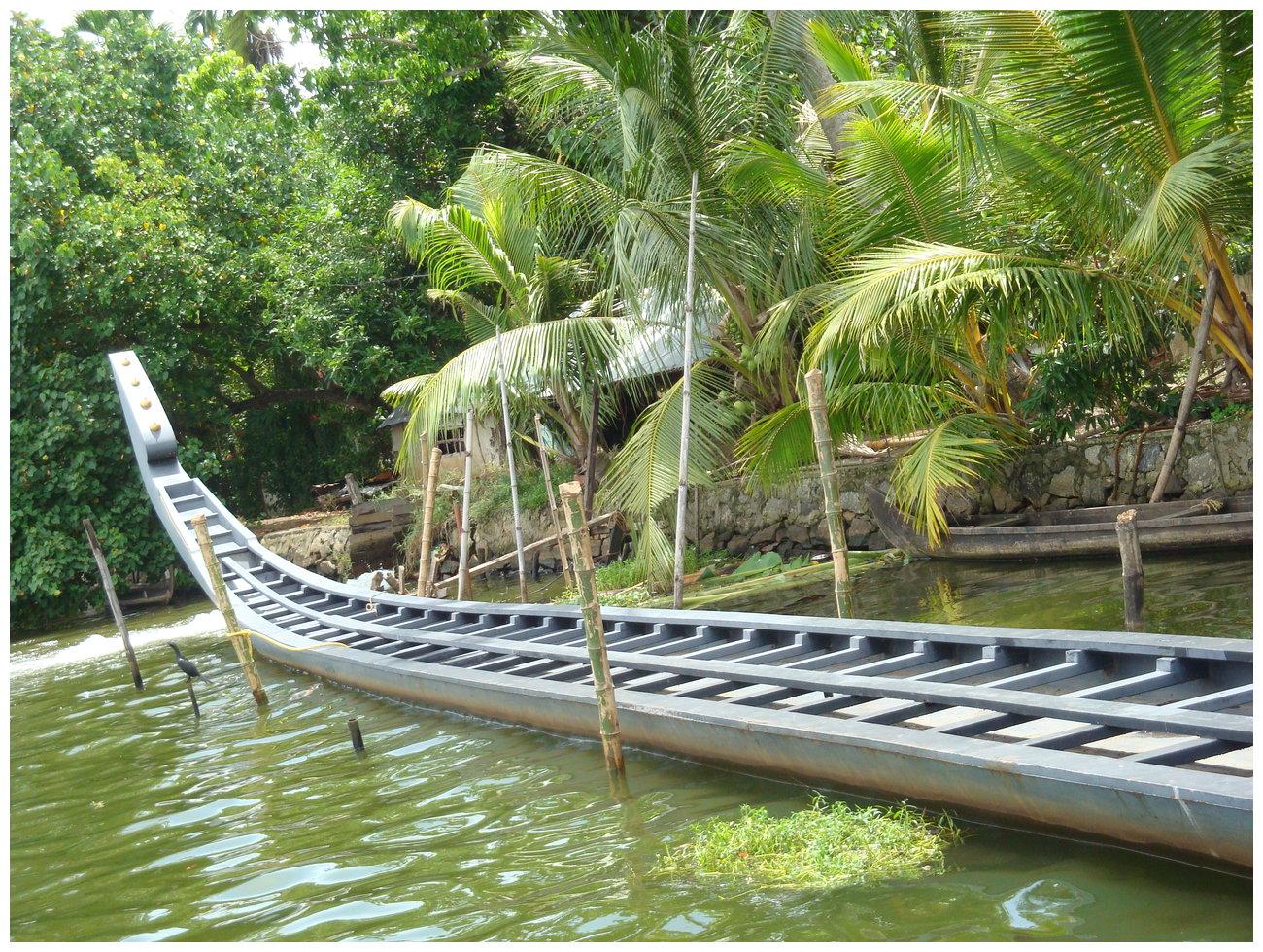 Alleppey snake boat