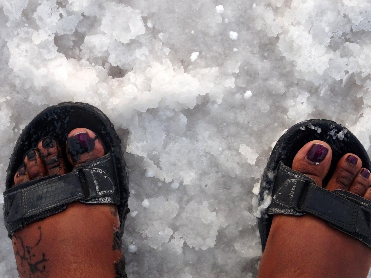 Happy Feet at Rann of Kutch