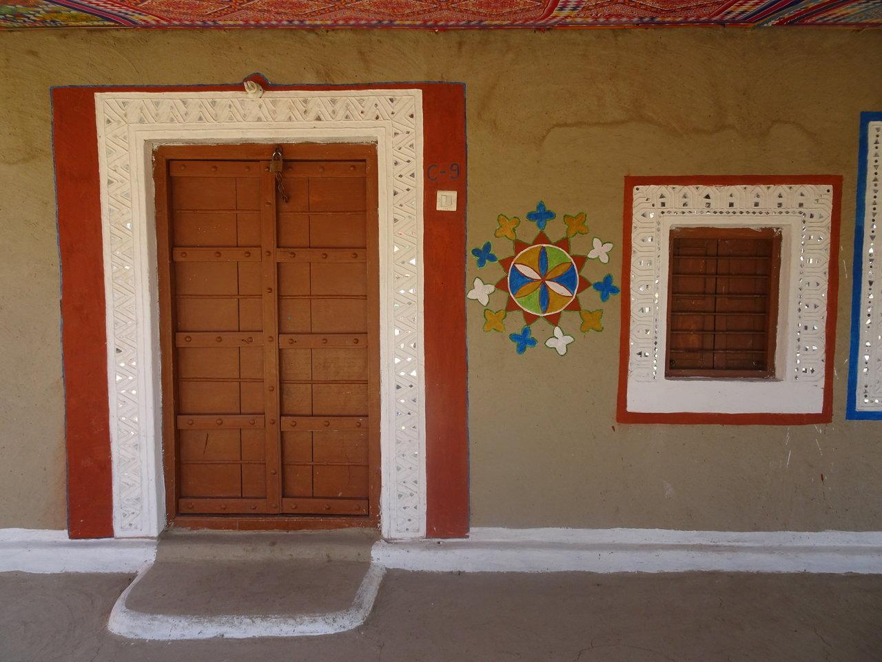 Traditional Bhunga decoration