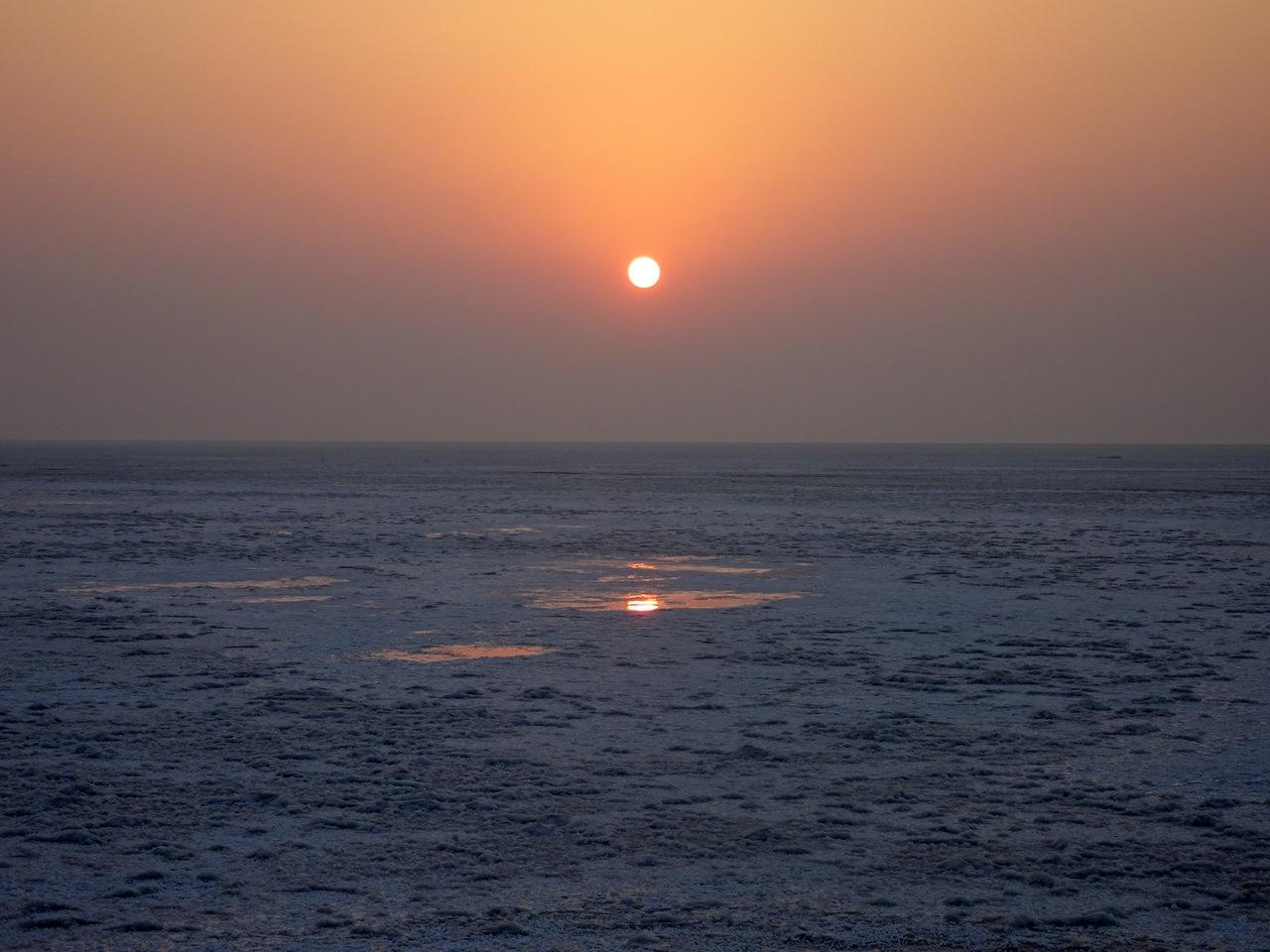 SunRise at Rann of Kutch