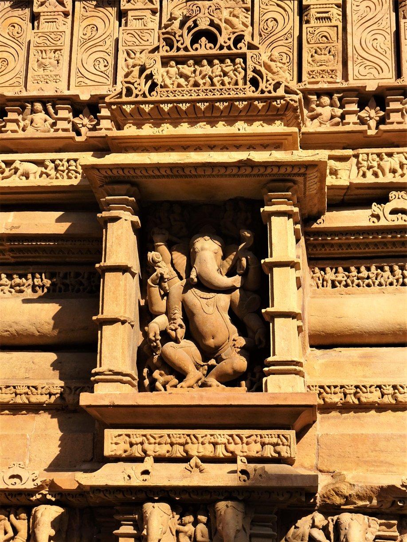 Dancing Ganesha Khajuraho