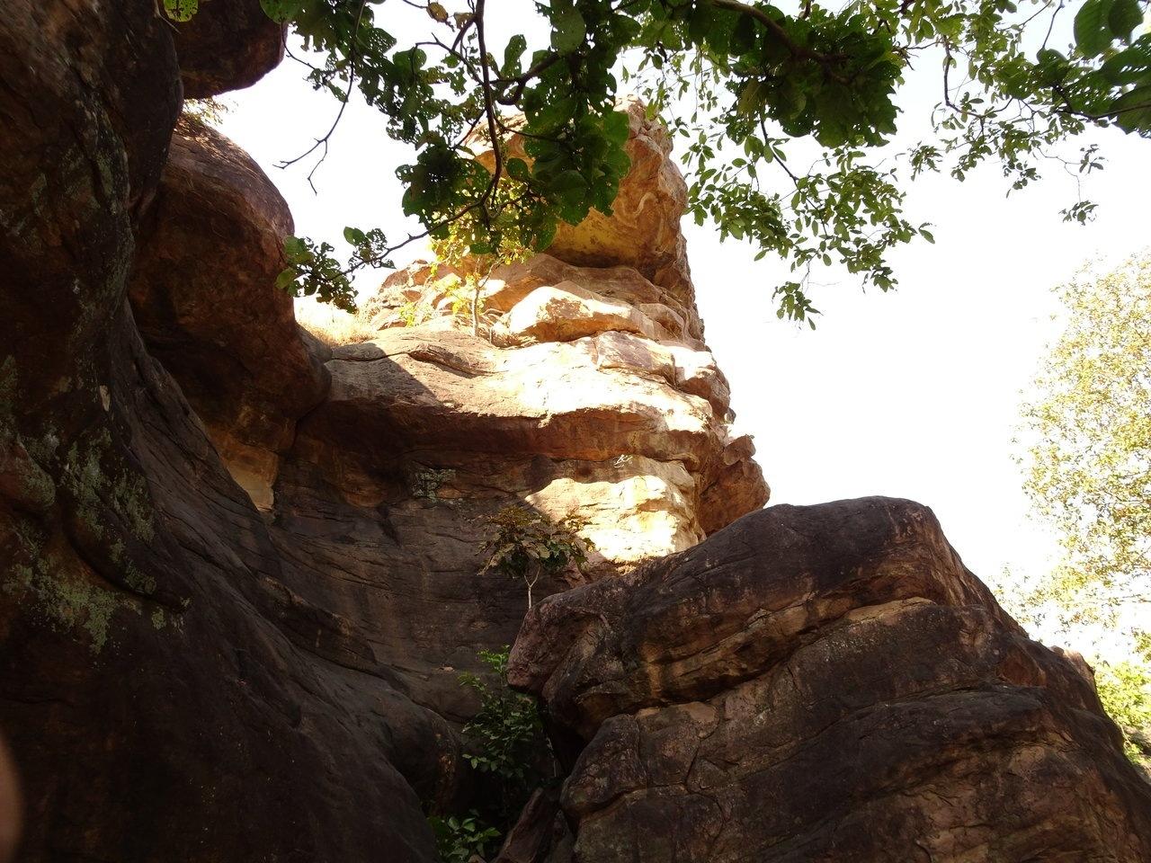Scenic view bhimbhetka