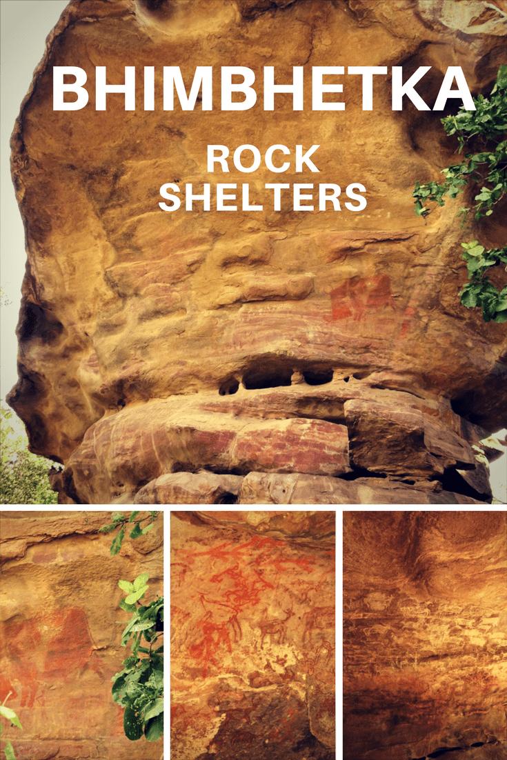 PIN IT - Bhimbetka Rock Shelters