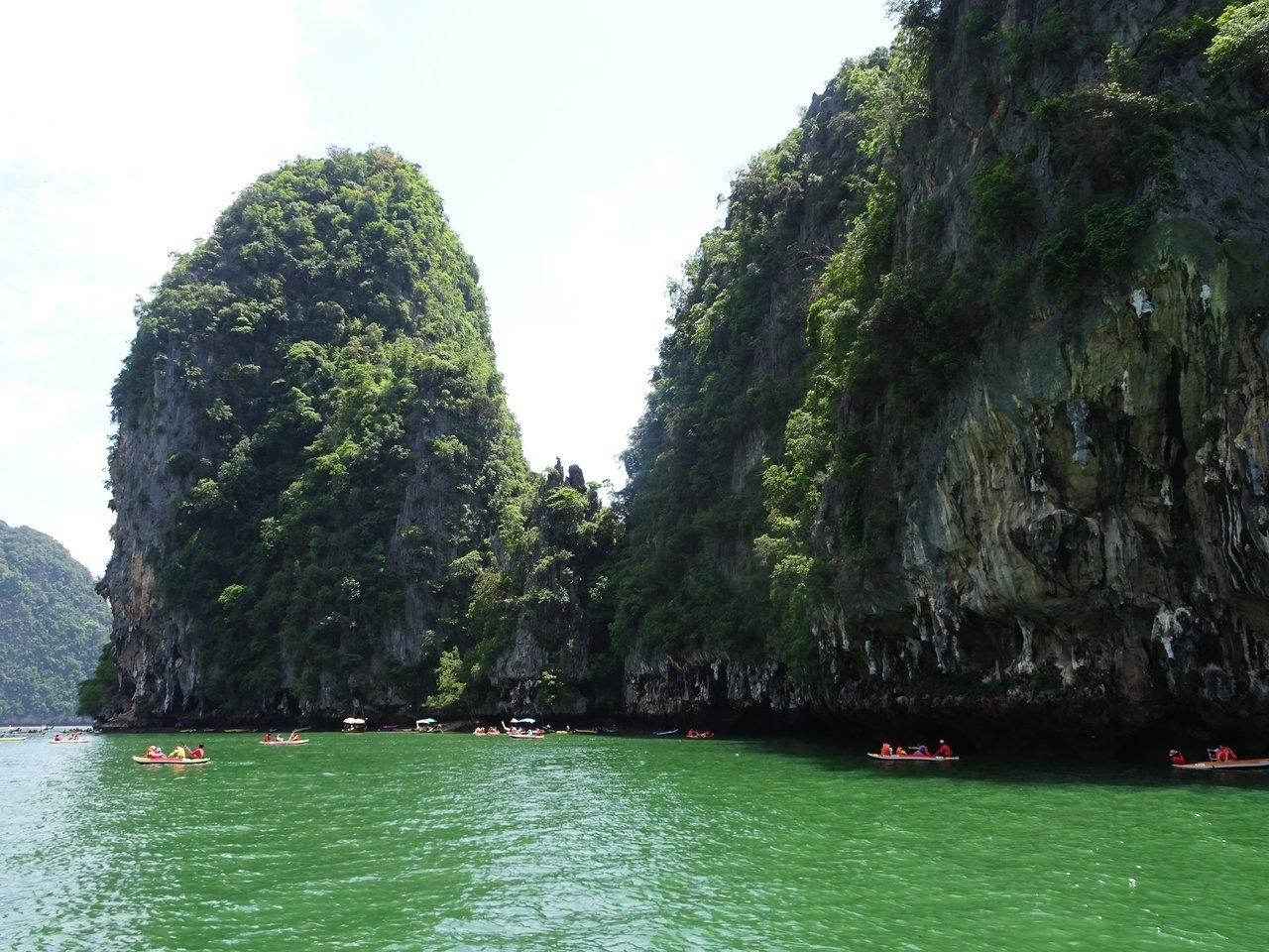 canoeing phang nga bay