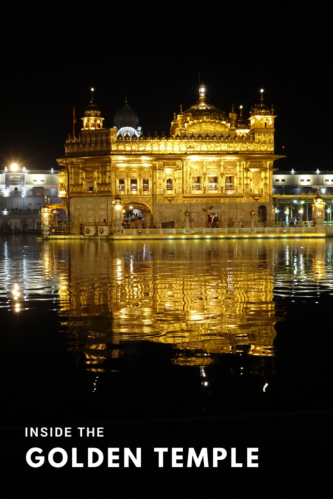 Pin golden temple