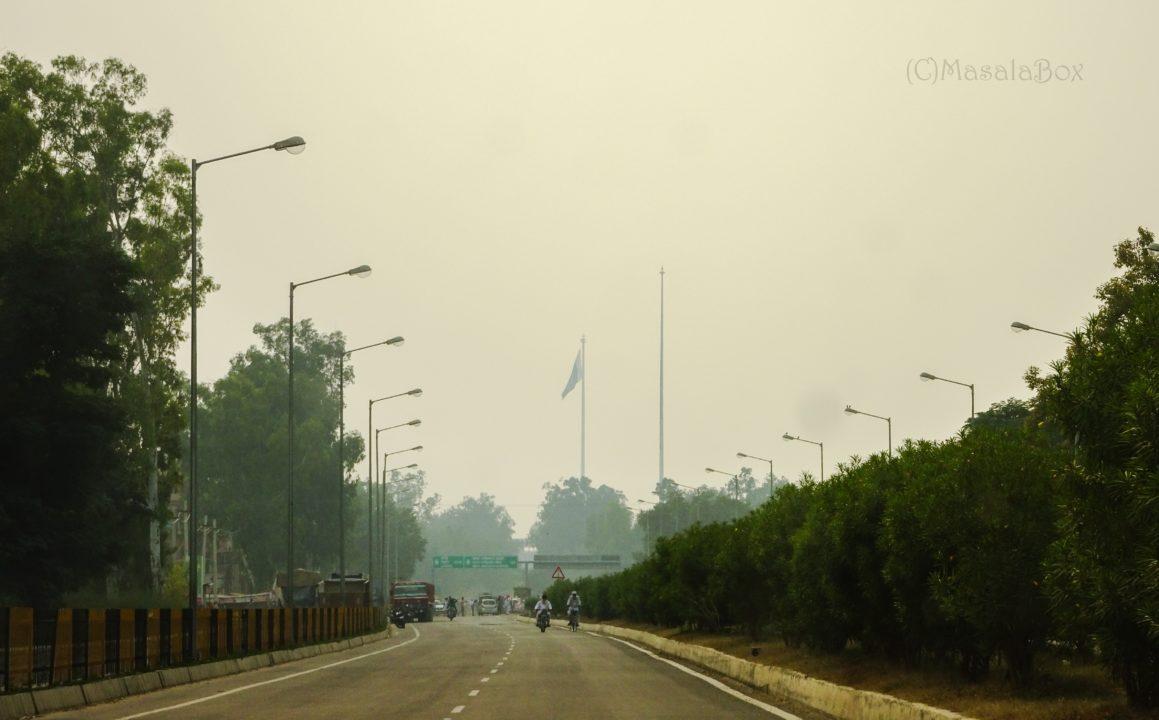Indian Flag pole Wagah border