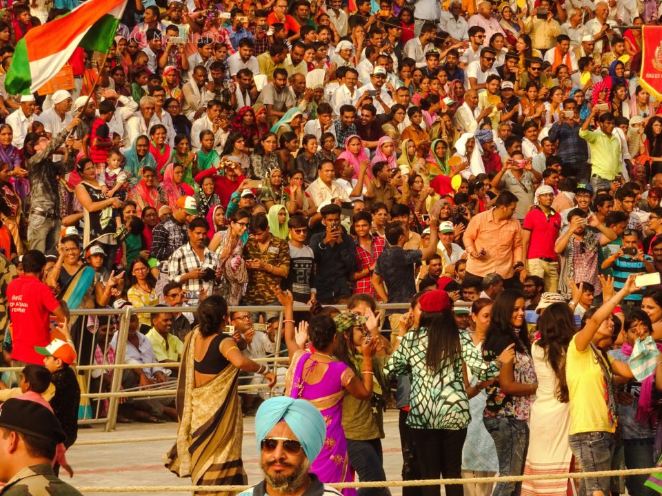 dancing at wagah border