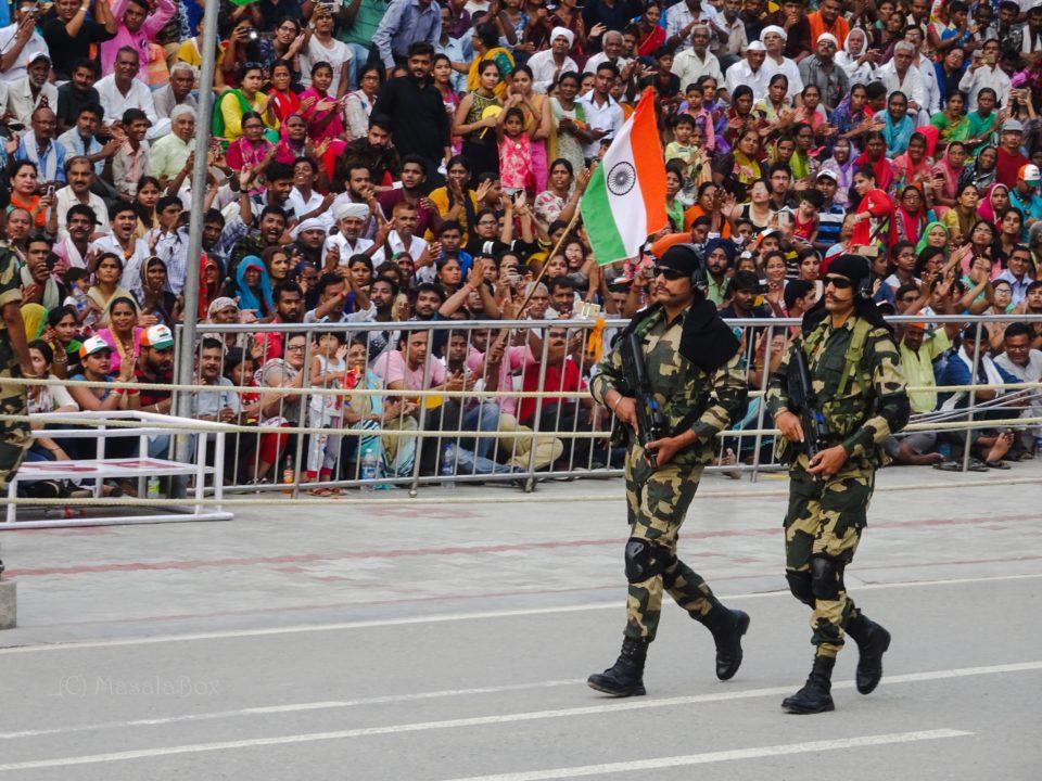 BSF wagah border