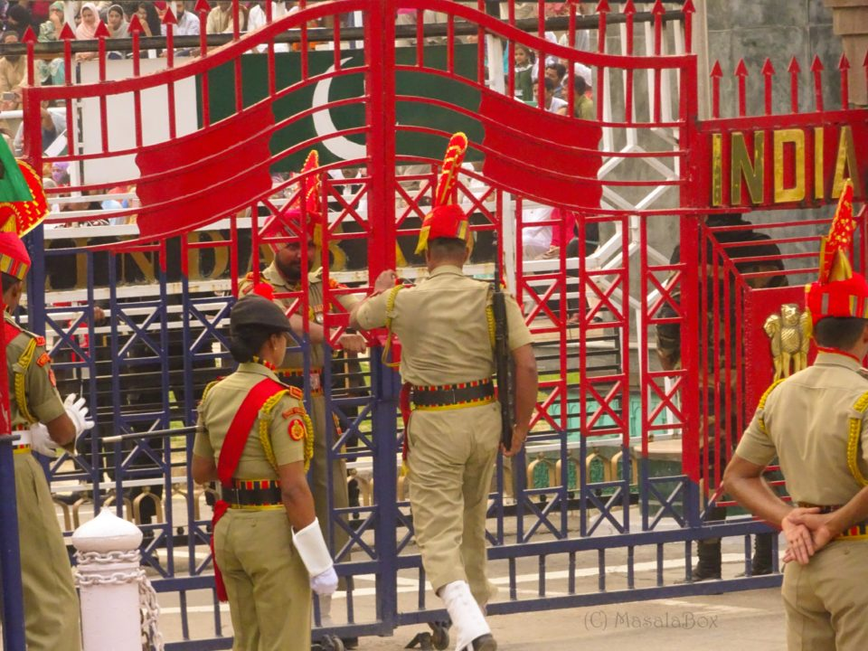 India side gate at attari border