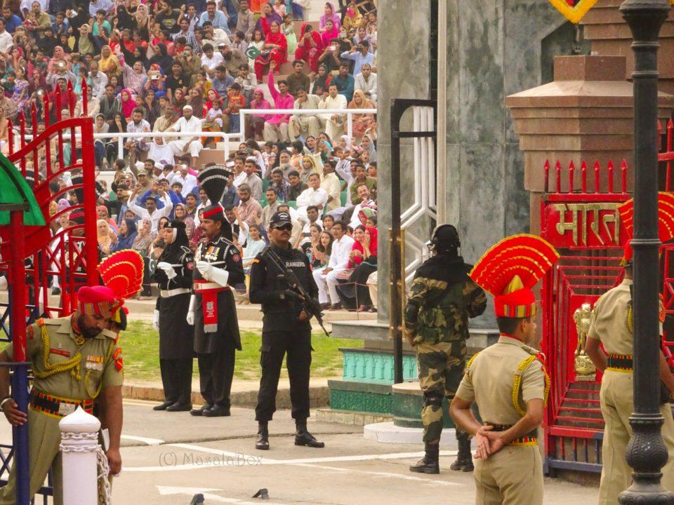 attari border gates