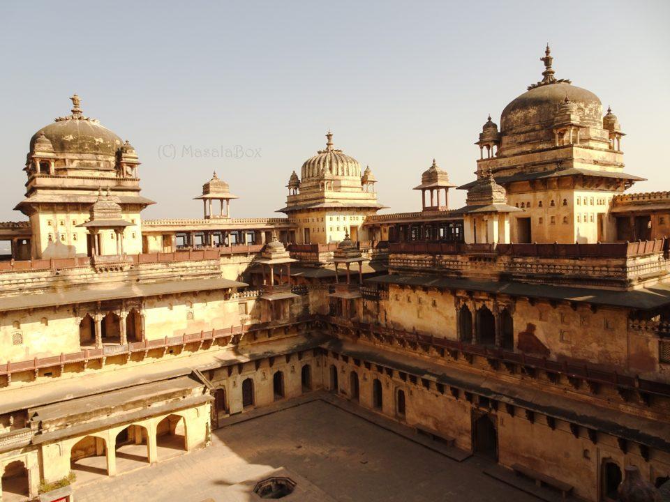 Jahangir Mahal Orchha history