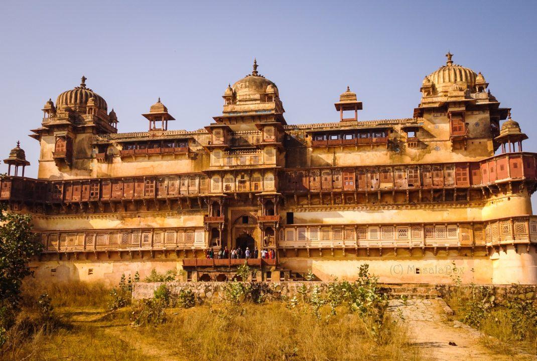 Jahangir Mahal grand entrance