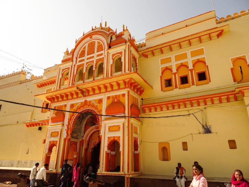 Ram raja mandir orchha