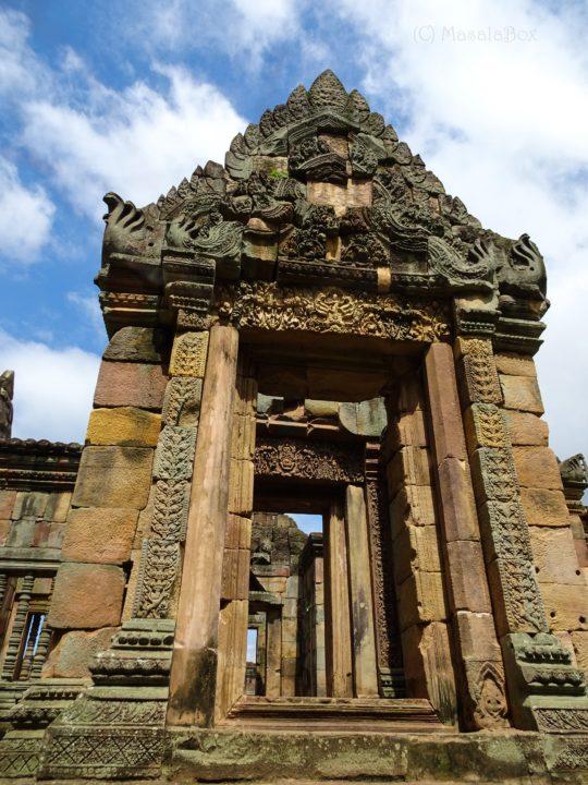 Muang Tam doorway
