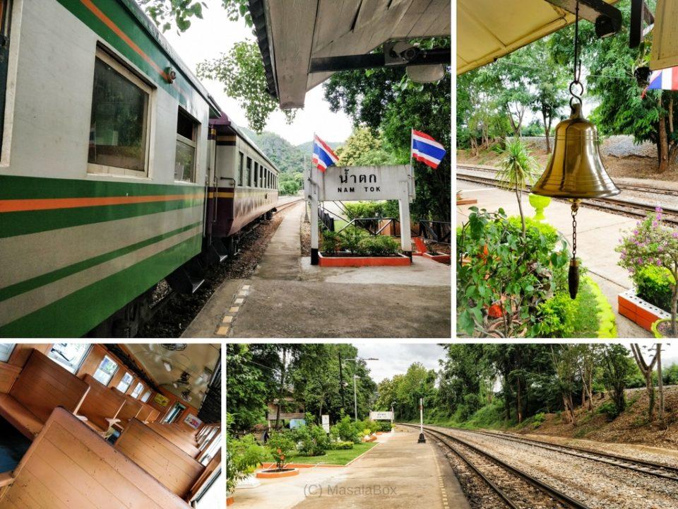 Nam tok Railway Station