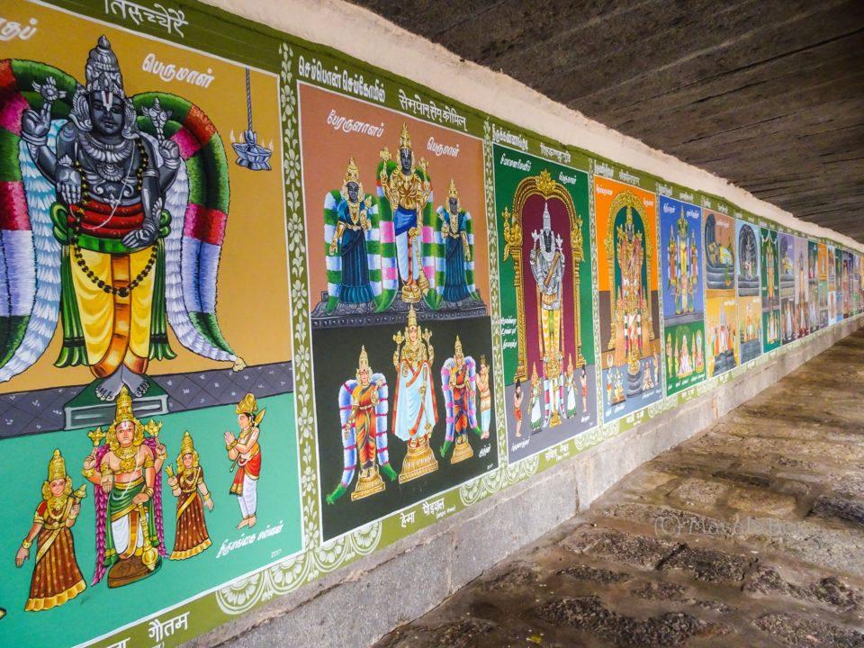 108 divya desam painting