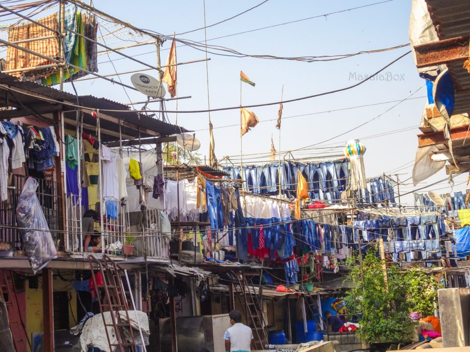 inside of dhobi ghat