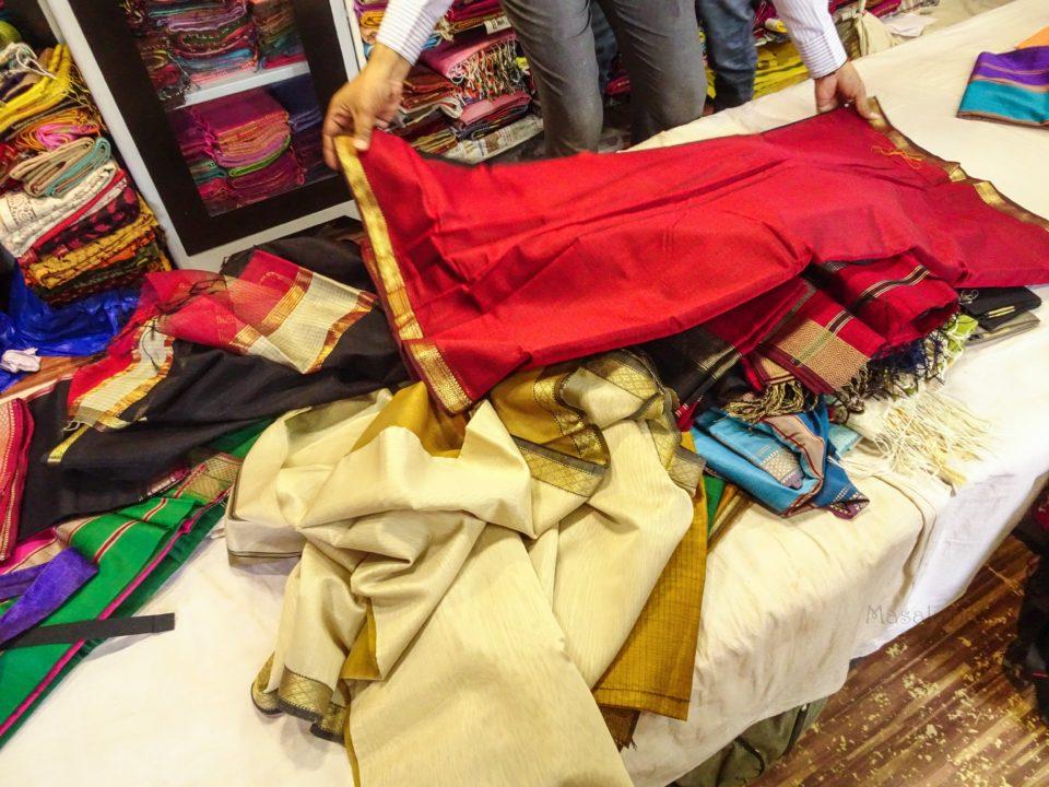Maheshwari silk