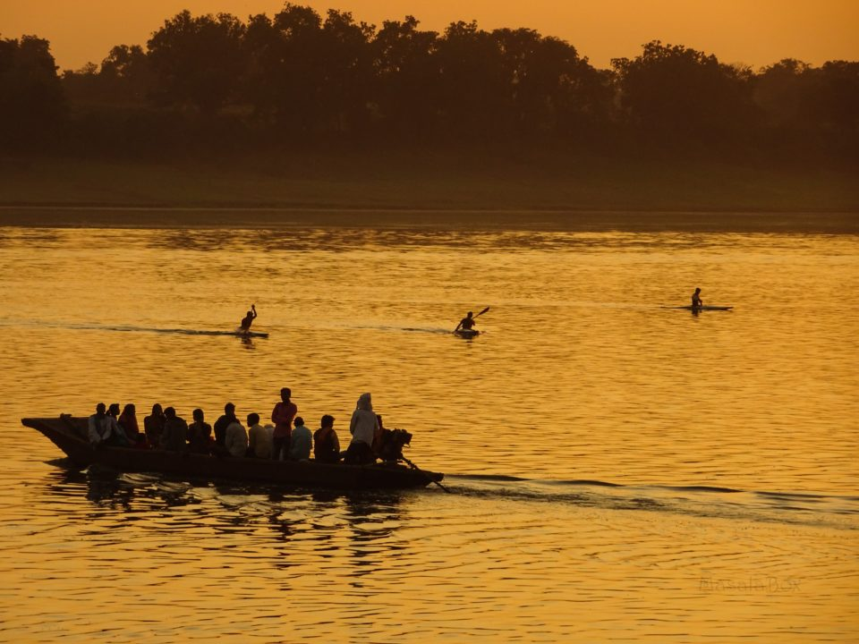 Narmada river Maheshwar