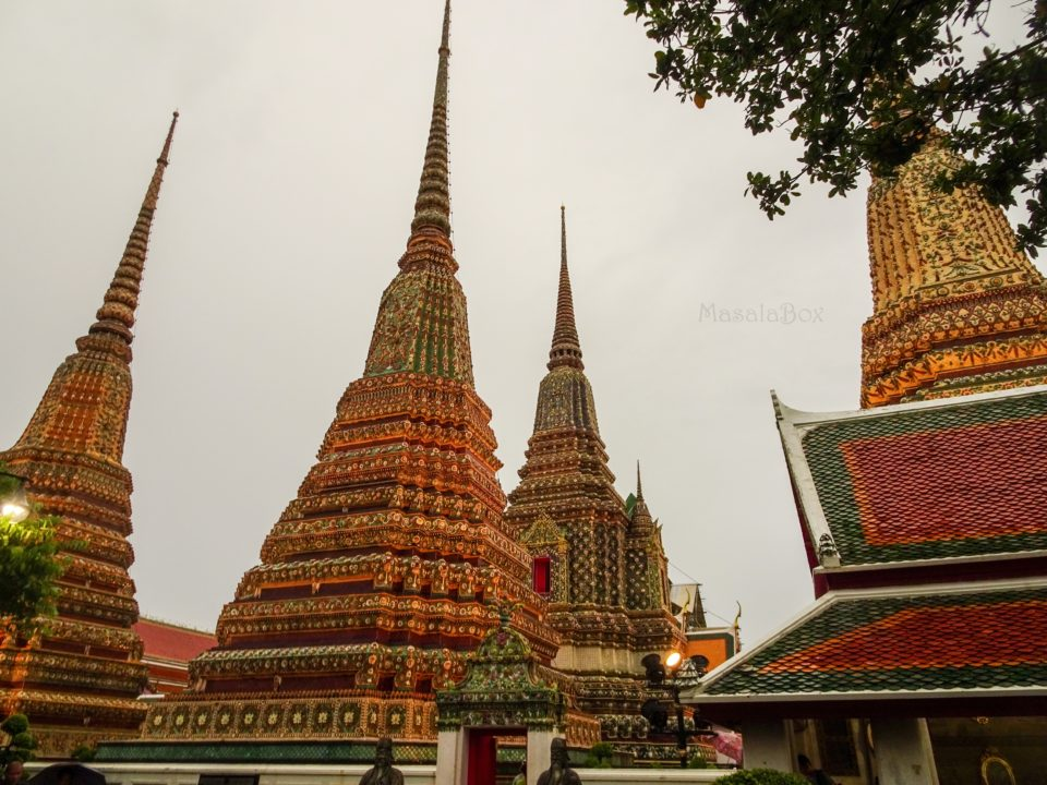 chedi at wat pho