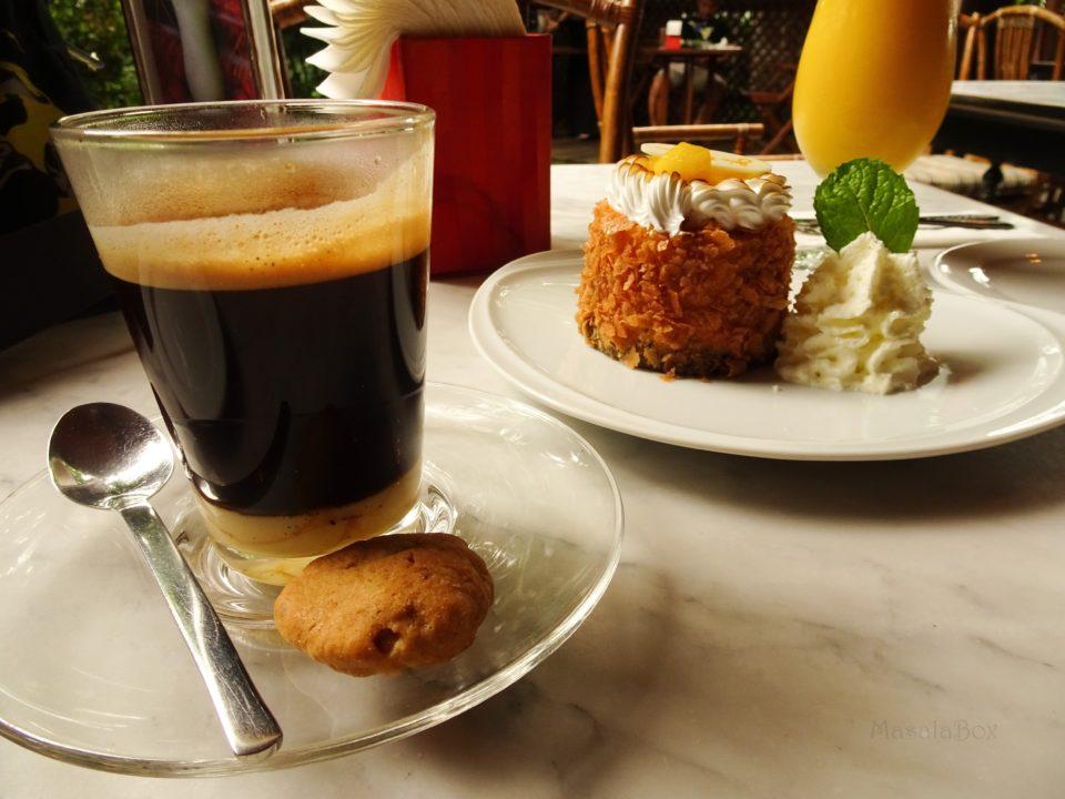 hot thai coffee