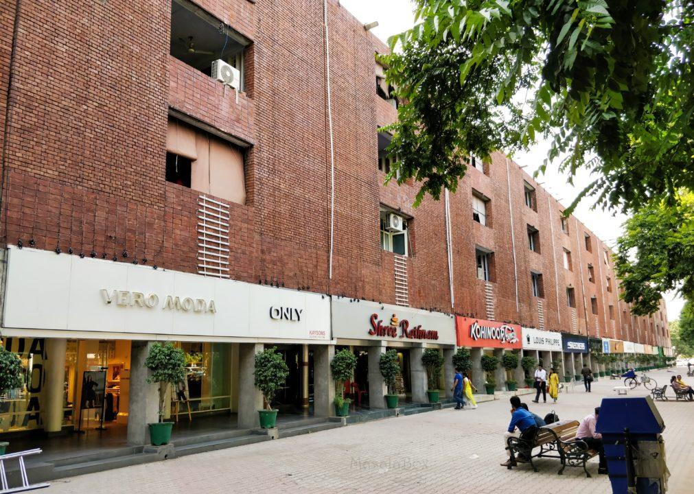Sector 17 Market Chandigarh