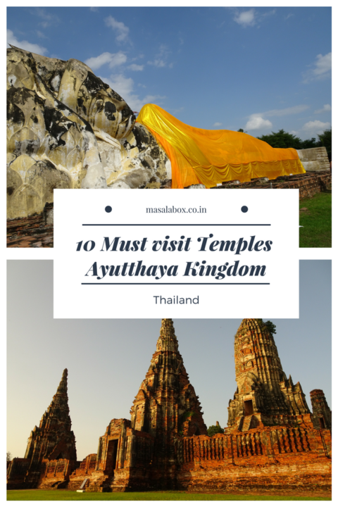 10 must visit temples of Ayuthaya