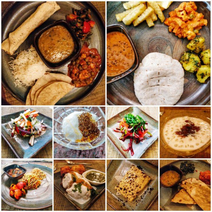 Food at Denwa Backwater Escape