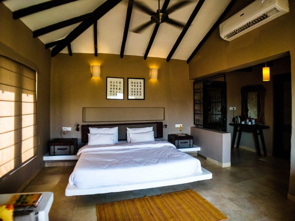 cottage inside Denwa Backwater Escape