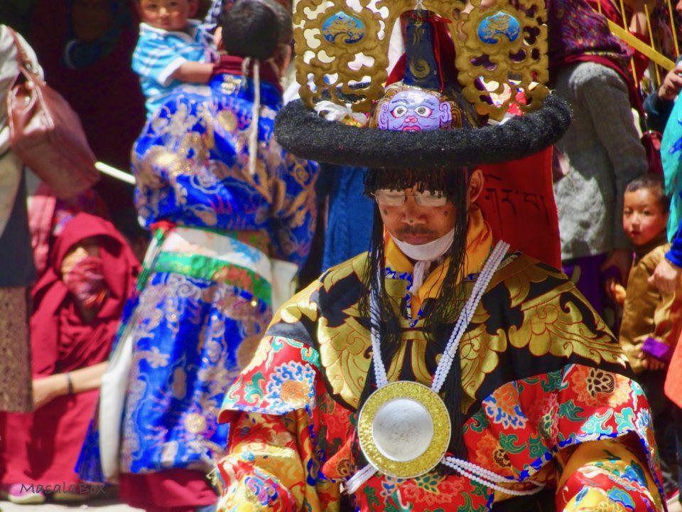 Cham dance Key Monastery