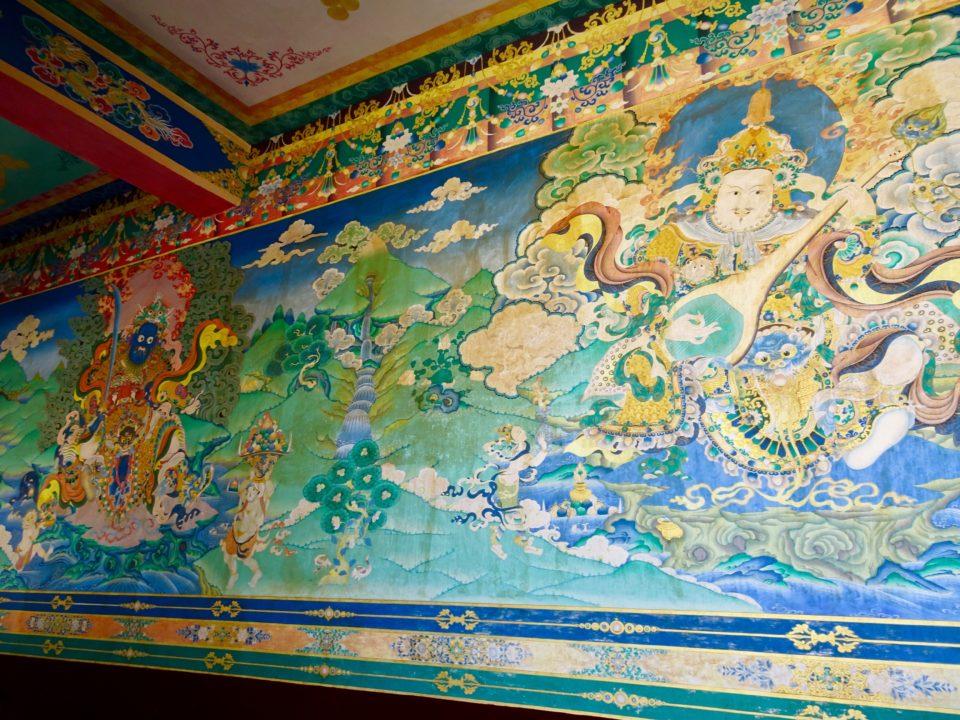 Kungri monastery pin valley