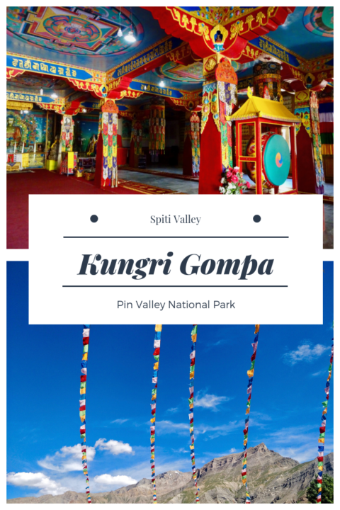 Kungri Gompa - Pin Valley