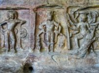 Brahma, Vishnu and Mahishasura Mardini f