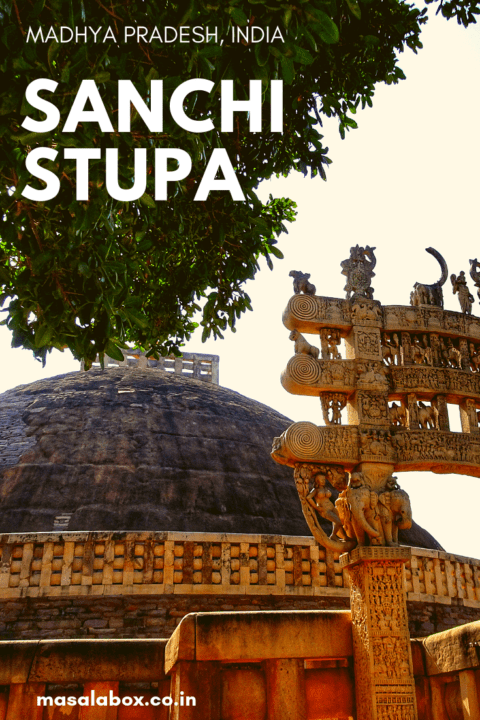 Sanchi Stupa Pin