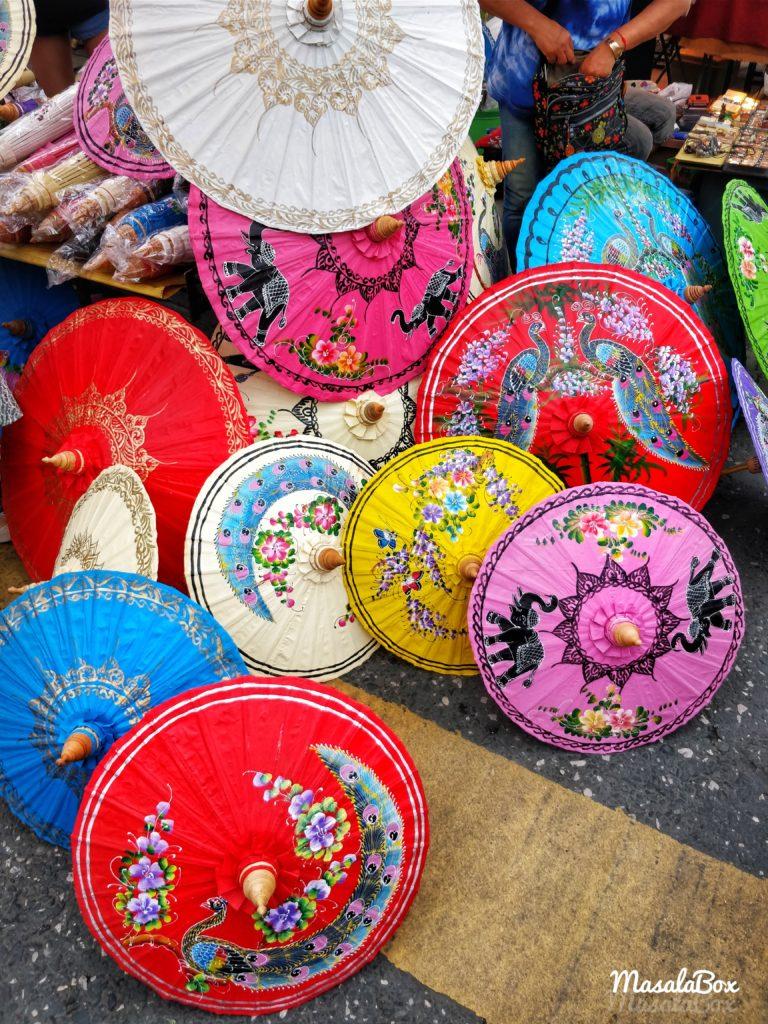 Chiang mai shopping umbrella