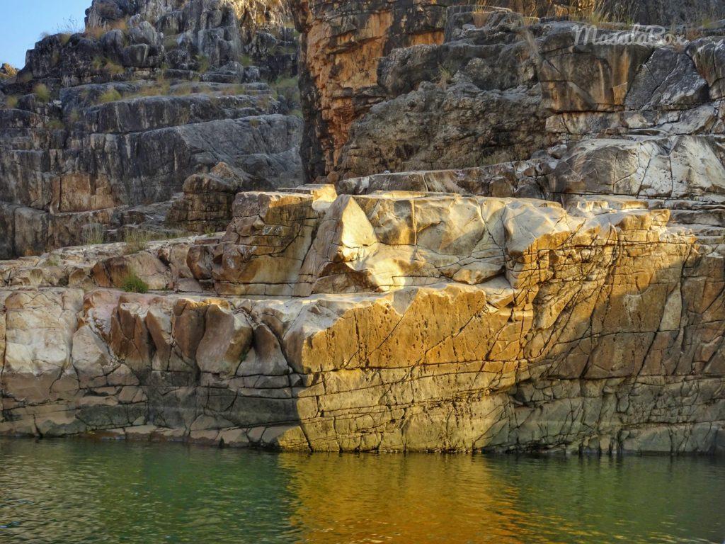 Jabalpur Marble Rocks A Wonder At Narmada