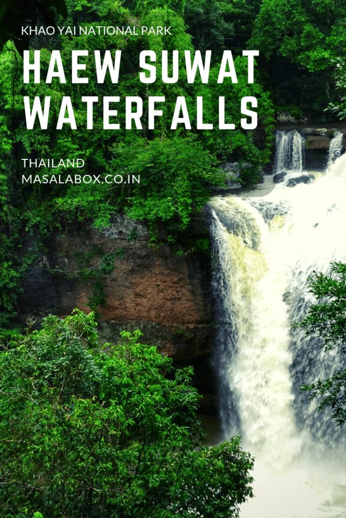 Haew Suwat waterfalls pin
