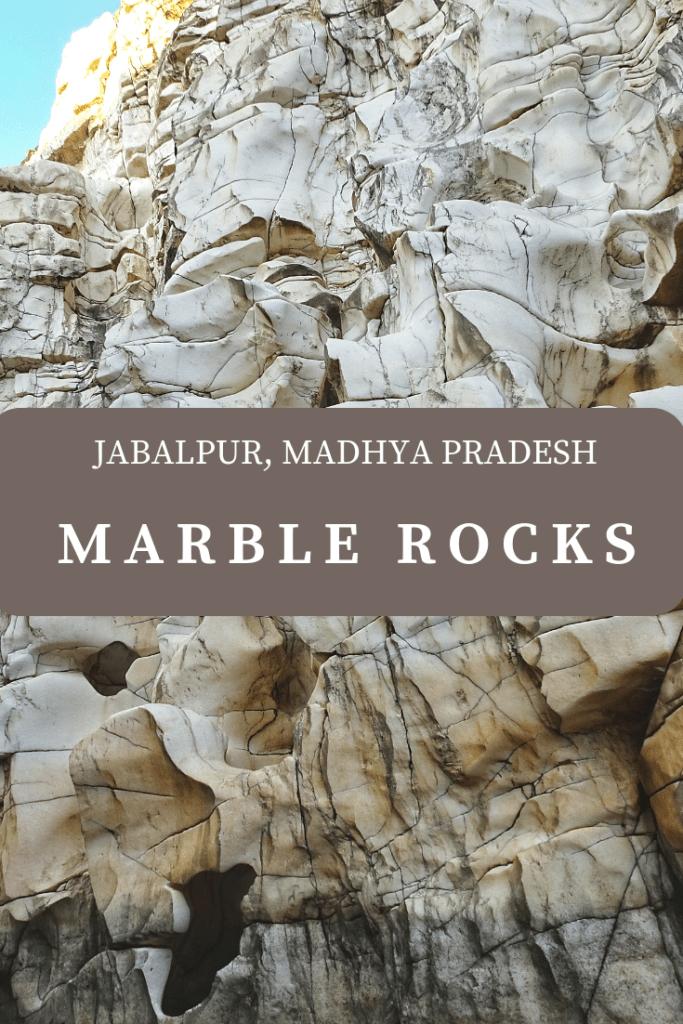 Marble rocks pin