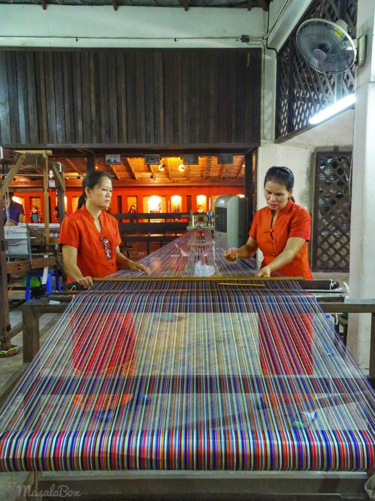 chiang mai shopping thai silk