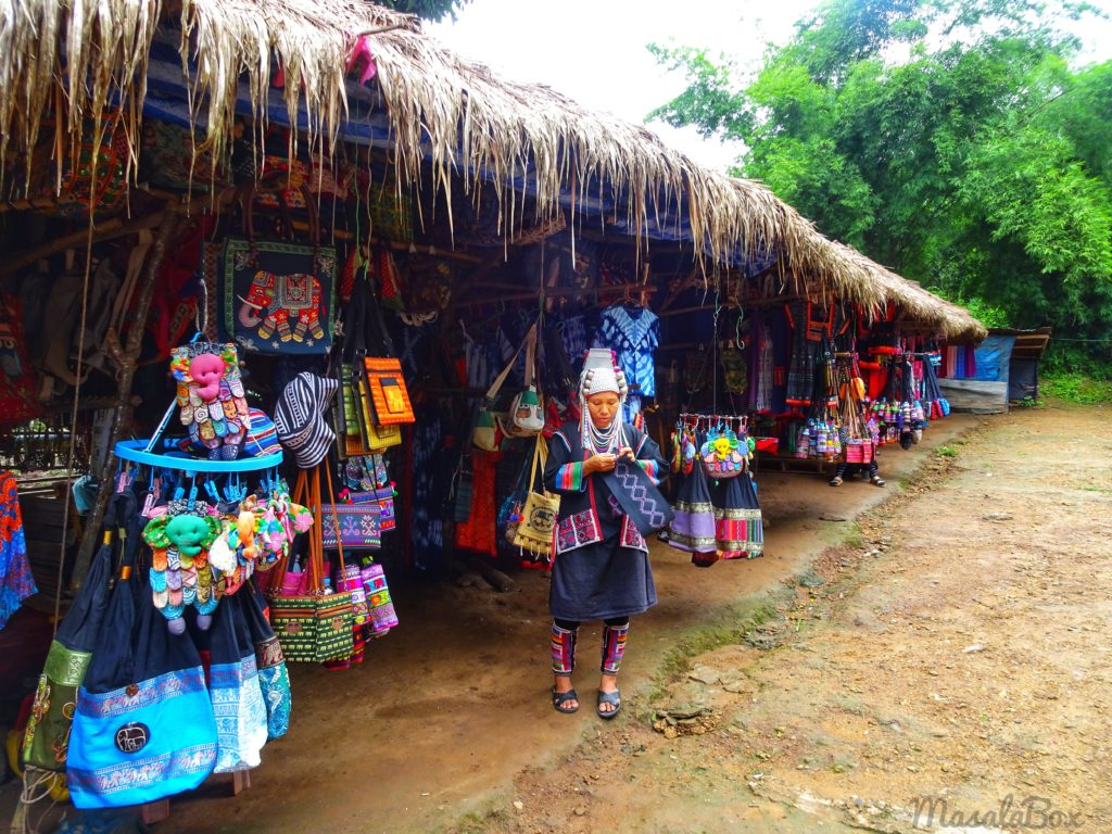 Chiang Mai hill tribe village