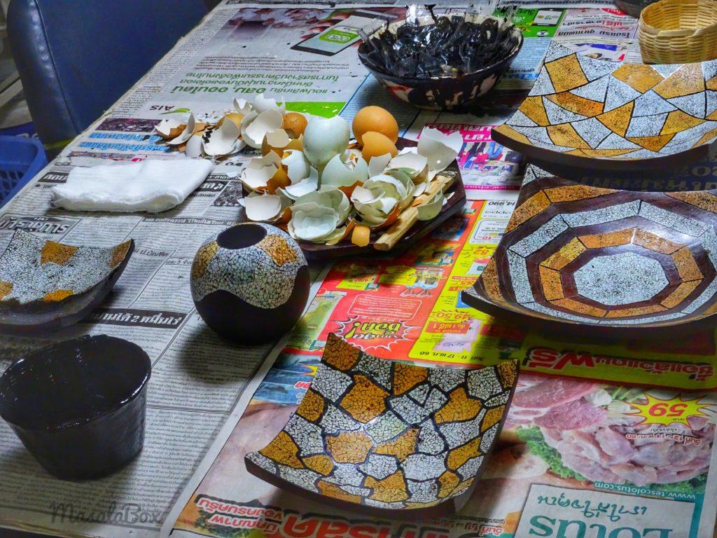 lacquerware eggshell